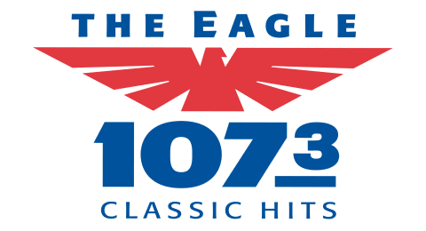 107.3 The Eagle - Tampa Bay's Classic Hits Station Logo